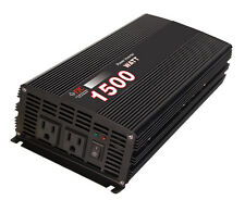 Professional Series 1500 Watt Power Inverter/ Convert 12v DC to 110v/120v AC NEW