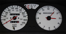 Lockwood Peugeot 106 110MPH Jaeger without Rev Counter RED (G) Dial Kit