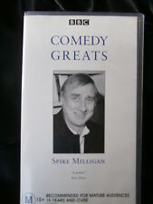 BBC COMEDY GREATS ~ SPIKE MILLIGAN ~ RARE VHS VIDEO