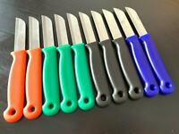 10 x SOLINGEN Küchenmesser BUNT gem Obstmesser Schälmesser Allzweckmesser Messer