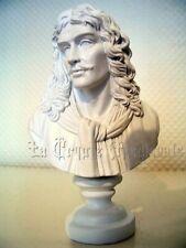 RE0049 § BUSTE   FIGURINE   STATUETTE  REPRODUCTION MOLIERE  ECRIVAIN THEATRE
