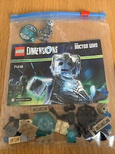 Lego Dimensions 71238 Dr Who Cybermen 100% Complete