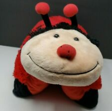 Pillow Pets Ms. Ladybug 18' Red Black Lady Bug Pillow Plush Stuffed Toy
