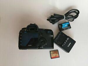 Canon EOS 5D Mark II 21.1MP 3 Zoll Display Digitalkamera - Schwarz