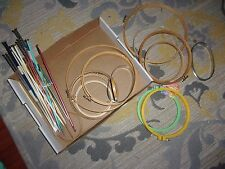 Vintage Lot Of Cross Stitch Hoops And Knitting Needles