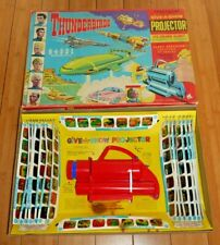 VINTAGE THUNDERBIRDS CHAD VALLEY GIVE A SHOW PROJECTOR SET 1966 RARE BOXED  E638