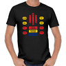KITT COCKPIT Michael Knight Hasselhoff Rider LED 80er 80s Kult Trans AM T-Shirt