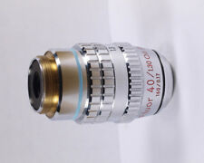 Nikon Fluor 40x Ph4 DL OIL IRIS Phase Contrast 160 TL Microscope Objective