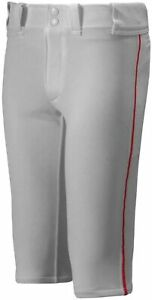 Mizuno Youth Premier Piped Pant Grey XX-Large