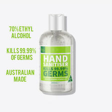Hand Sanitiser 250ML 70% Alcohol Instant Antibacterial Sanitizer Australian Made