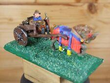 Classic Metal temprano mercenario comerciante aventurero con carro pintado (678)
