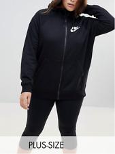 New Nike Women's Black Hoodie/sport Jacket  Size XXL / XXXL/ soft cotton mix/£59