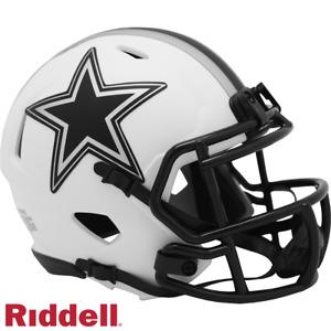 Dallas Cowboys Lunar Eclipse Riddell Speed Mini Helmet - New in Riddell Box