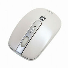 Jsco Wireless Optical Noiseless Mouse JNL-202K Plus USB Pc Laptop Mice - White