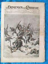 La Domenica del Corriere 11 giugno 1916 WW1 Monte Coston - Trentino - Roma