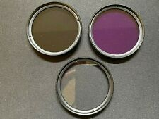 49mm Lens Filter Kit UV FLD CPL