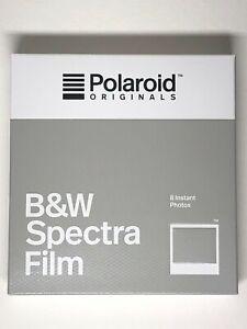 POLAROID ORIGINALS SPECTRA BLACK & WHITE - IMAGE Film VERY RARE ! DISCONTINUED