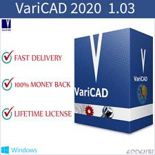 VariCAD 2020 License - 3D  2D CAD software for mechanical engineering design