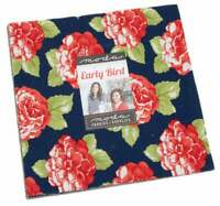 "Moda, Early Bird, Layer Cake, 10"" Fabric Quilting Squares, 55190LC, B15+"