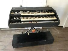 Bill Beer Hammond Organ Keyboard Chopped Chop Black Flight Case B3 equal AS IS