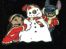 Starter Set Lilo and Stitch Building a Snowman Disney Pin 108242