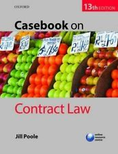USED (LN) Casebook on Contract Law, 13th Ed.
