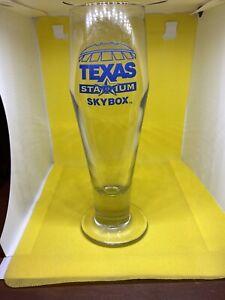 Texas Stadium Skybox Tall Glass Rare