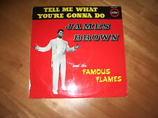 JAMES BROWN - TELL ME WHAT YOU'RE GONNA DO ! VG+/-NM1st 1964 UK PRESS EMB 3357