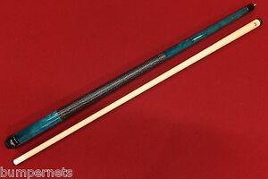 New Blue Viking Pool Cue Billiards Stick Lifetime Warranty Free Shipping 113