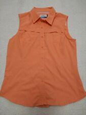 Magellan Outdoors Women's L MagWick Fish Gear Shirt Orange