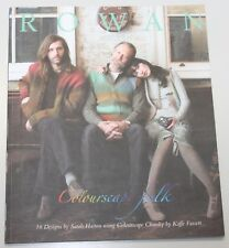 ROWAN Zeitschrift / Strickheft  - - - Colourscape Folk - - -