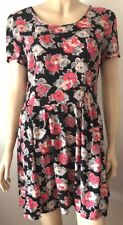 MISS SELFRIDGE Flower Print Multi Short Sleeved Dress Size 10