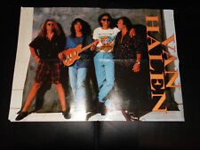 Heavy Metal Poster Van Halen / Slayer, 90er Jahre RAR