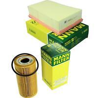 MANN-Filter Set Ölfilter Luftfilter Inspektionspaket MOL-9694706