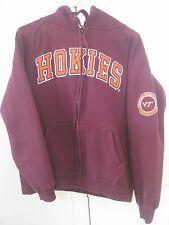 Virginia Tech Hokies Hoodie Sweatshirt by Colosseum Size Medium