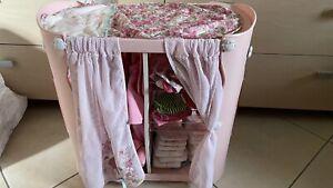 Baby Annabell Puppen Kleiderschrank + Maxi Cosi + sehr viel Zubehör!!!