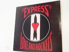 LP 33 tours EXPRESS LOVE AND ROCKETS 1986 PUNK ALTITUDE RECORDS ATT 12