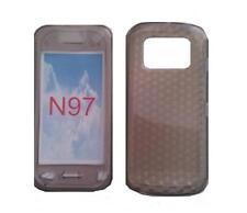 Funda Carcasa De Silicona Gel Negro Diamante ~ Nokia N97