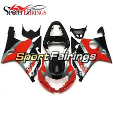 Fairings For Suzuki GSX-R 1000 K1 K2 2000 - 2002 ABS Injection Red Black Covers