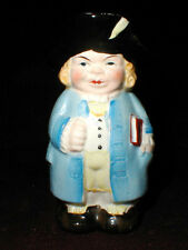 Japanese Miniature Toby Jug Toothpick Holder  Made in Japan Rare & Cute