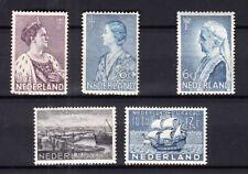 Nederland Curaçao, Crisis en Emma 1934 ongebruikt, alles met de volle gom