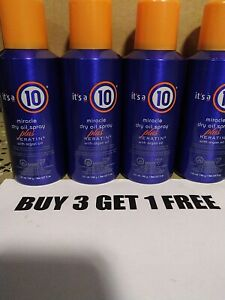 It's a 10 miracle oil spray and keratin 8 oz x 4 cans free shipping