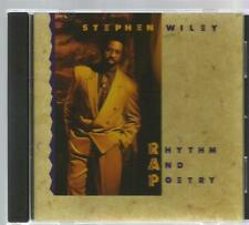 STEPHEN WILEY rare RHYTHM AND POETRY CD 1990 Renee Garcia GREG X. VOLZ