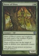 1x Drove of Elves Light Play, English Duels of the Planeswalkers MTG Magic