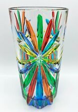 """SORRENTO"" HIGHBALL GLASS - EACH - HAND PAINTED VENETIAN GLASSWARE"