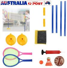 kids Sports Volleyball Badminton Set 2in1 Outdoor Play Family Beach Game Gift