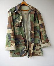 Vintage Marines Camo Jacket Shirt Camouflage Military Medium