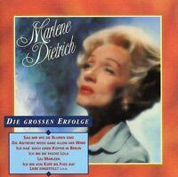 Marlene Dietrich Die grossen Erfolge (18 tracks, 1991, Electrola) [CD]