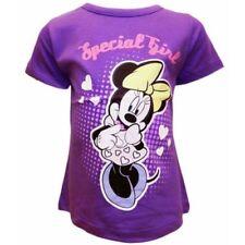 T-shirts, hauts et chemises violets Disney pour fille de 2 à 16 ans en 100% coton