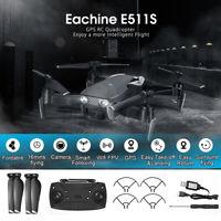Eachine E511S GPS w/ 5G WiFi 1080P HD Camera Foldable RC Drone Quadcopt aa
